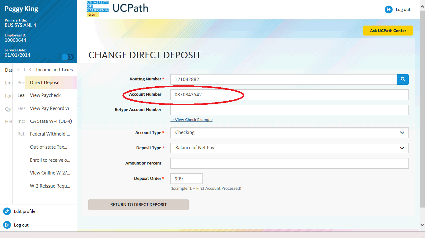 Paper Paychecks and Direct Deposit | UCPath